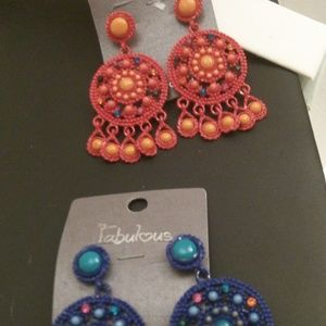 Nwt 2 Boutique Earring Sets RETAIL $30 LOT A64